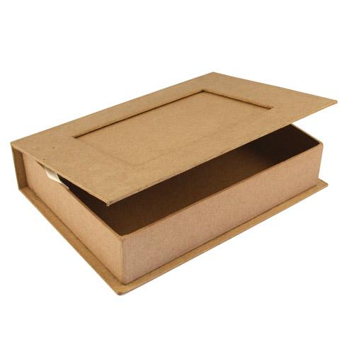 Как сделать книжку из коробки 652