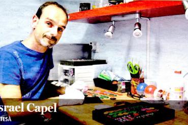 Israel Capel - Éxito con la Arcilla Polimérica Pardo