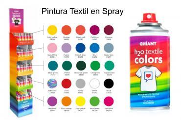 Pintura Textil en Spray Ghiant