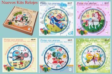 Nuevos Kits de Relojes infantiles