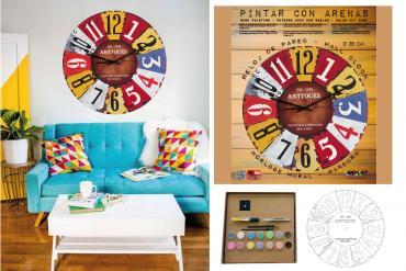 Nuevos Kits para pintar relojes con arenas de colores