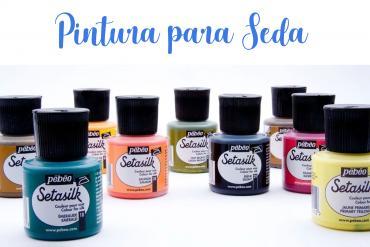 Pintura para seda de Pebeo
