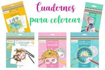 Cuadernos para colorear