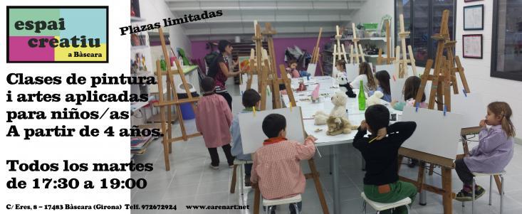 Taller pintura infantil