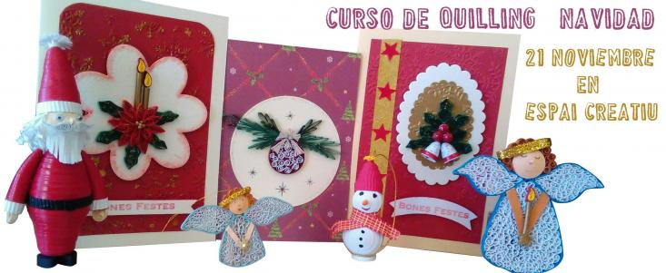 Curso Quilling Navidad
