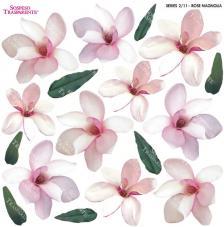 Sospeso transparente predisenyat Rose Magnolia 23x23 cm