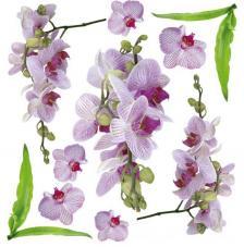 Sospeso transparente predisenyat Orchid Pink 23x23 cm