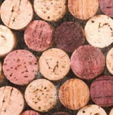 Tissu Bouchon rollo 30cmx5m
