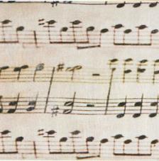 Tissu Chopin rollo 30cmx5m