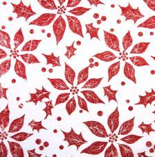 Tissu Bach 31 rollo 30cmx5m - rojo
