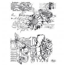 Segell de Silicona 14x18 cm. Model 95. Flors