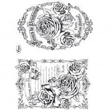 Segell de Silicona 14x18 cm. Model 96. Flors