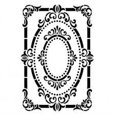 Stencil pared 36x63 cm. Modelo 64