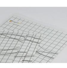 2 sides adhesive paper, 30x40 cm sheet