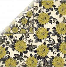 Papel doble cara 30,5 x 30,5 cm. Botanic