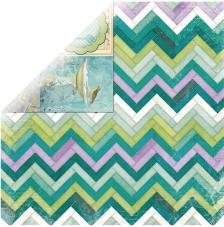 Papel doble cara 30,5 x 30,5 cm. Mosaic