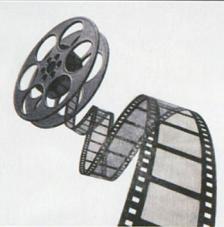 Tissu Cinema rollo 30cmx5m