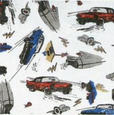 Tissu Cars rollo 30cmx5m