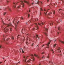 Tissu Rose Mary rollo 30cmx5m