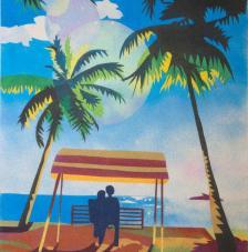 Paissatge Carib. 50x61 cm