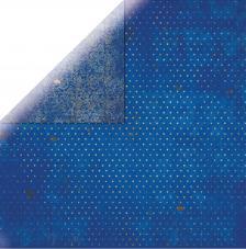Papel doble cara 30,5 x 30,5 cm. Zafiro