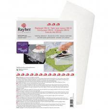 5 Papeles de planchar 42x29,7 cm