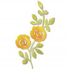 Troquel Sizzlits Sizzix. Flores escaladas en vid