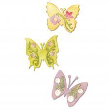 Troquel Sizzlits Sizzix. Conjunto mariposas