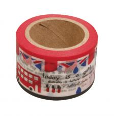 Washi Tape England 30mm rollo 15m