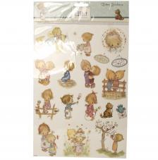 Stickers Glitter Lilibet 24,3x19,8 cm