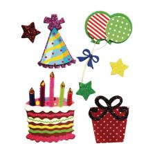 Deco stickers Birthday