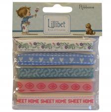 Surtido 5 cintas x 1 m. Lilibet