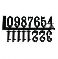 15 números adhesivos. 2 cm