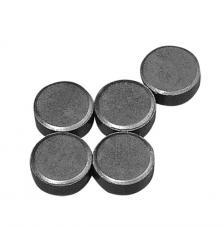 5 imans 13 mm de diametre