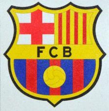 FC.Barcelona. 20x18 cm Pre-tallat