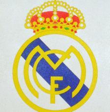 R.MADRID. 20x18 cm Pre-tallat
