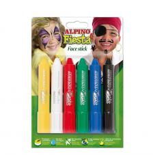 Estoig maquillatge 6 barretes face stick