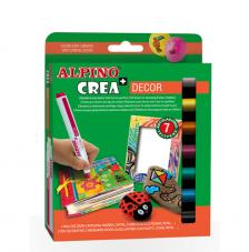 Kit 7 rotuladores Crea Decor