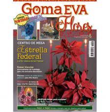 Revista Goma Eva Flores 4. Navidad