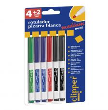 Blister 4+2 rotuladors medium