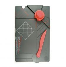 Plegadora para hacer cajas cuadradas