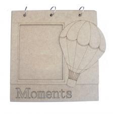 Album 2 fulles Moments 25x25 cm