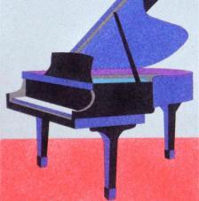 Piano. 20x18 cm pre-tallat