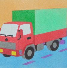 Camió. 20x18 cm pre-tallat