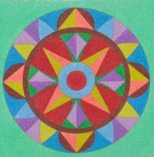 Mandalas 2. 20x18 cm pre-tallat