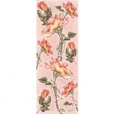 Papel decoupage rosas 26x68 cm
