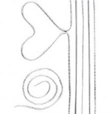 10 barras de alambre 40 cm y 2 mm