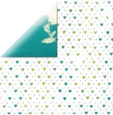 Papel doble cara 30,5 x 30,5 cm. Fresh Air