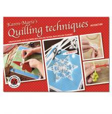 Revista técnicas básicas quilling