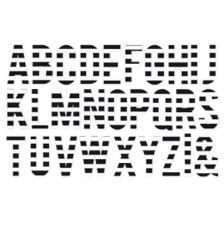 Minc Jumbo Alphabets 38 pzas